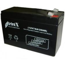 Свинцово-кислотная аккумуляторная батарея, 12 Вольт, емкость 7 Ач