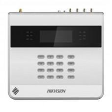 8-ми зонная сетевая охранная панель c аналоговыми видеовходами Hikvision DS-19S08-04F/K2