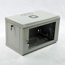 Шкаф 6U, 600х350х343 мм (Ш*Г*В), эконом, акриловое стекло
