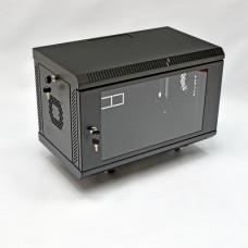 Шкаф 6U, 600х350х343 мм (Ш*Г*В), акриловое стекло