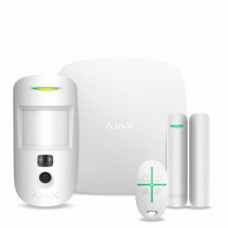 Комплект сигнализации Ajax StarterKit Cam Plus (white)