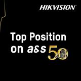 Снова лидер. Hikvison сохраняет пальму первенства Top Security 50