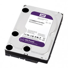 Жесткий диск 2 ТБ для системы видеонаблюдения WD Purple WD20PURZ