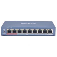 DS-3E0109P-E(C) 8-портовый неуправляемый POE коммутатор Hikvision