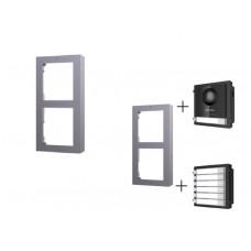 DS-KD-ACW2 рамка для накладного типа крепления 2х модульных панелей