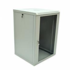Шкаф 18U, 600x600x907 мм (Ш*Г*В), эконом, акриловое стекло