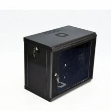 Шкаф 9U, 600x350x507мм (Ш*Г*В), эконом, акриловое стекло