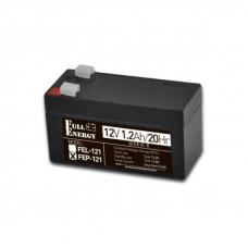 Аккумулятор 12 Вольт, емкость 1.2 Ач