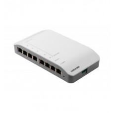 DS-KAD606-N 8-портовый коммутатор для IP видеодомофонов Hikvision